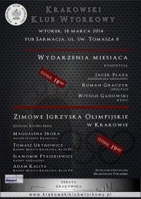 Wydarzenia miesiąca / debata krakowska